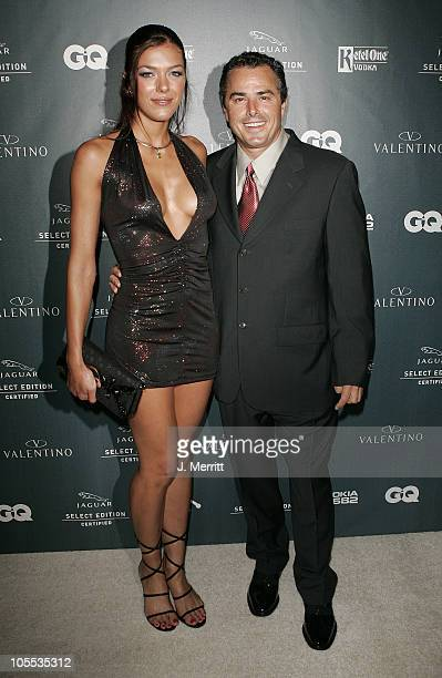 Adrianne Curry and Christopher Knight during Valentino and GQ Host a Live Performance By John Legend at The Museum of Television and Radio in Beverly...