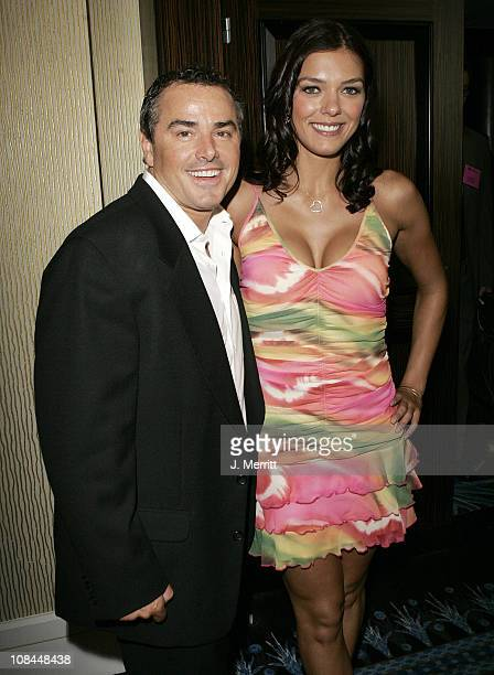 Adrianne Curry and Christopher Knight for 'My Fair Brady'