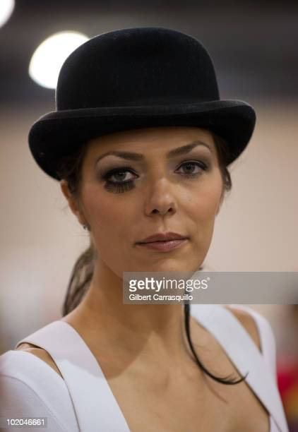 Adrianne Curry attends the 2010 Philadelphia Comic Con at Pennsylvania Convention Center on June 13 2010 in Philadelphia Pennsylvania