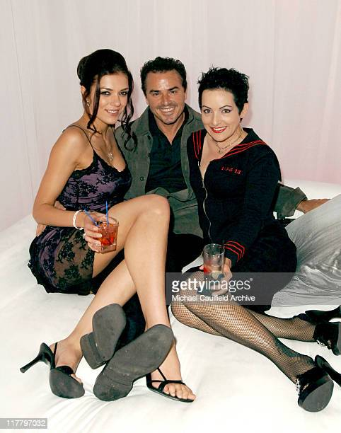 Adrianne Curry Christopher Knight and Jane Wiedlin
