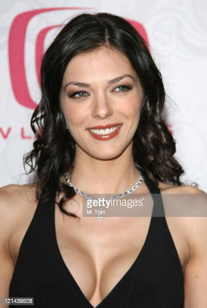 Adrianne Curry during 5th Annual TV Land Awards Arrivals at Barker Hangar in Santa Monica California United States