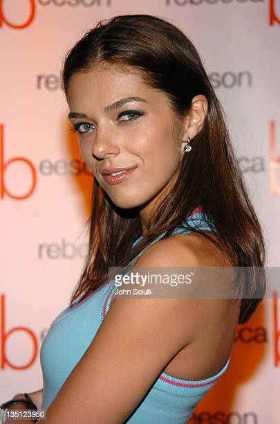 Adrianne Curry during Cocktail Party By Rebecca Beeson to Celebrate Her Spring 2005 Collection at Avalon Hotel in Los Angeles California United States
