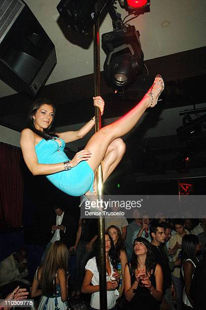 Adrianne Curry during Giantto and Von Dutch Watches Host Party at Light Nightclub at Bellagio Hotel and Casino Resort at Las Vegas in Las Vegas...