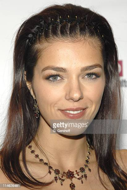 Adrianne Curry during Nissan and Marc Ecko Unveil Collaboration in Customized Vehicles and AutomotiveInspired Clothing at Splashlight Studios in New...