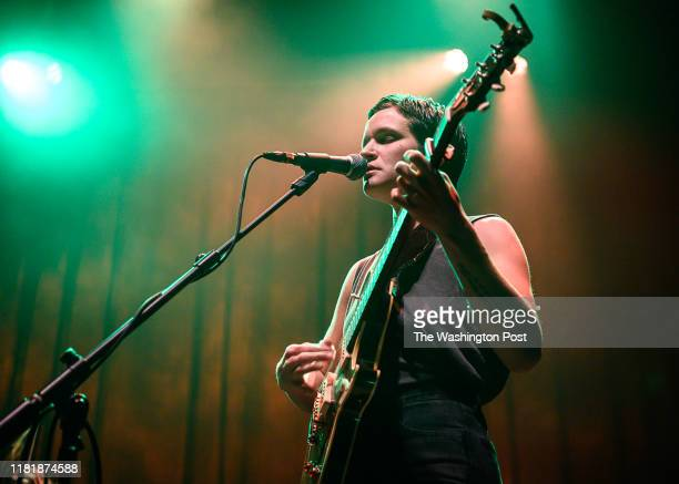 Adrianne Lenker of Big Thief performs a sold out show at the 930 Club on Sunday