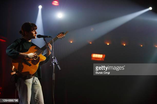 Adrianne Lenker performs at the Union Chapel on January 15 2019 in London England