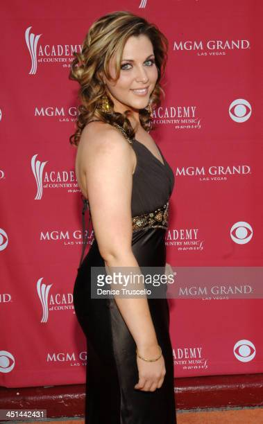 Adrianne Leon during 42nd Academy of Country Music Awards Red Carpet at The MGM Grand Hotel and Casino Resort in Las Vegas Nevada