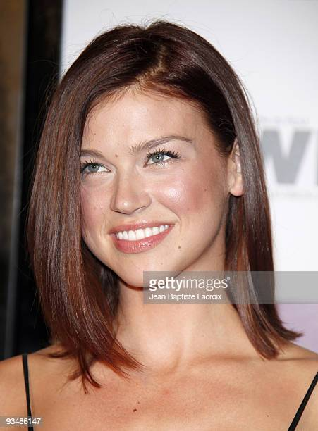 Adrianne Palicki arrives at the Entertainment Weekly and Women In Film's PreEmmy Party at the Restaurant at The Sunset Marquis Hotel on September 17...