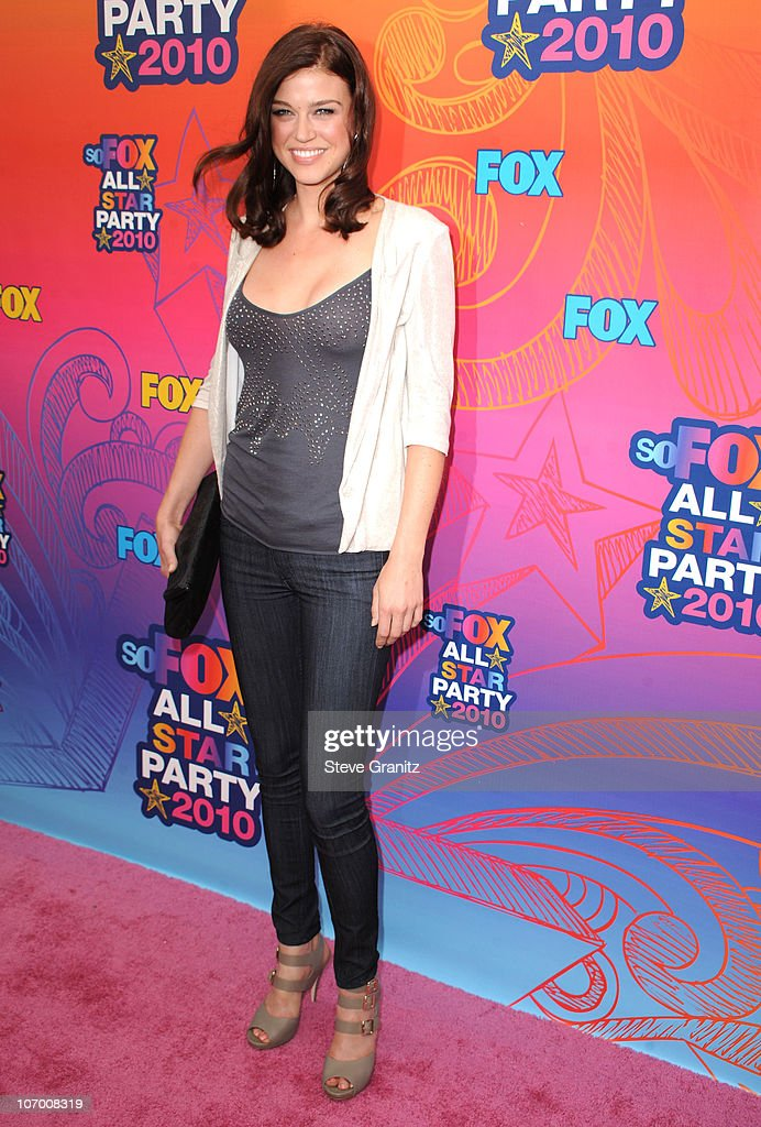Adrianne Palicki arrives at the FOX 2010 Summer TCA All-Star Party on August 2, 2010 in Santa Monica, California. at Pacific Park .