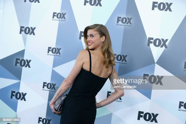 Adrianne Palicki attends 2018 Fox Network Upfront at Wollman Rink Central Park on May 14 2018 in New York City