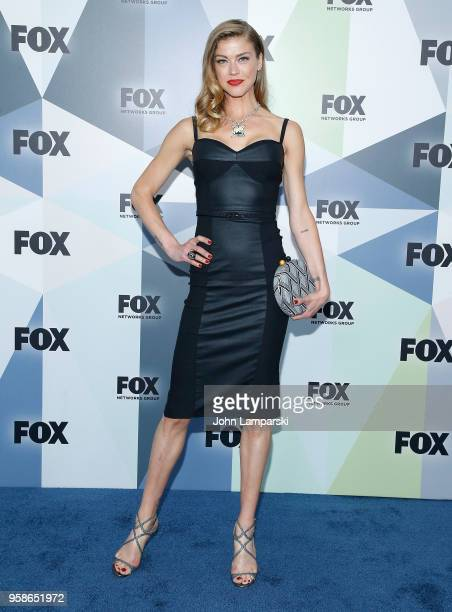 Adrianne Palicki attends 2018 Fox Network Upfront at Wollman Rink, Central Park on May 14, 2018 in New York City.