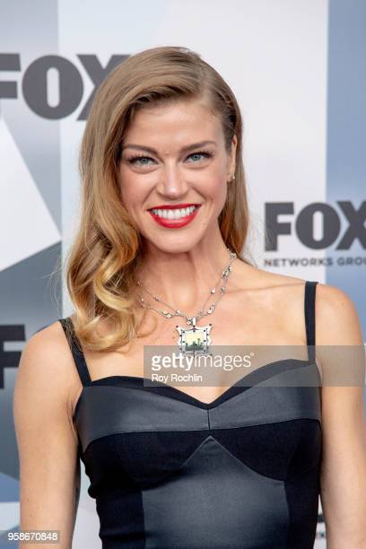 Adrianne Palicki attends the 2018 Fox Network Upfront at Wollman Rink Central Park on May 14 2018 in New York City