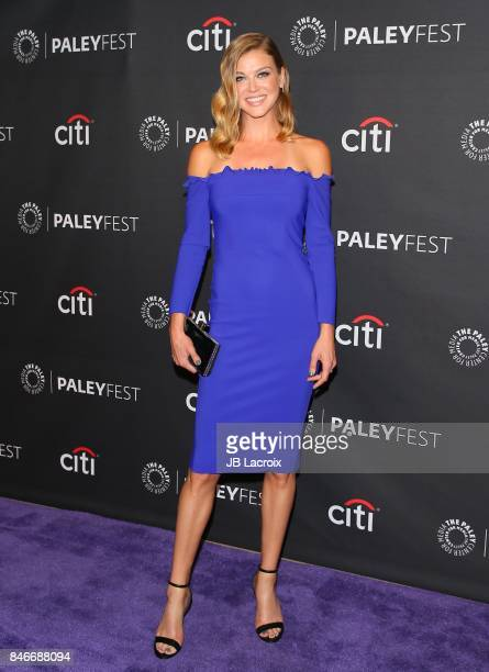 Adrianne Palicki attends The Paley Center for Media's 11th Annual PaleyFest fall TV previews Los Angeles for Netflix at The Paley Center for Media on...