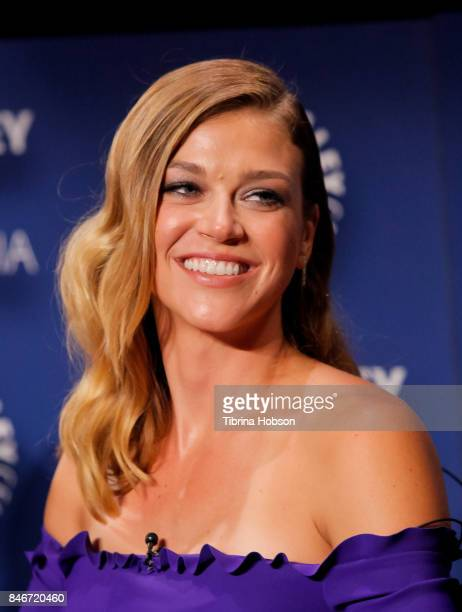 Adrianne Palicki attends The Paley Center for Media's 11th annual PaleyFest Fall TV previews for FOX at The Paley Center for Media on September 13...