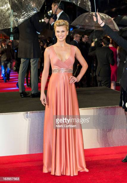 """Adrianne Palicki attends the UK premiere of """"G.I. Joe: Retaliation"""" at Empire Leicester Square on March 18, 2013 in London, England."""