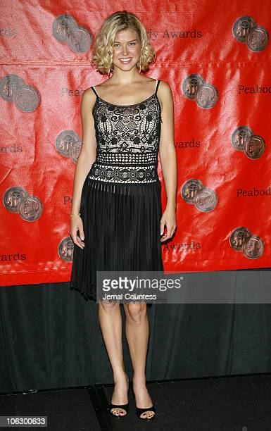 Adrianne Palicki during 66th Annual Peabody Awards Press Room at Waldorf Astoria in New York City New York United States