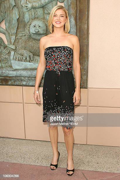 Adrianne Palicki during Friday Night Lights Photo Call at Leonard H Goldenson Theater in North Hollywood California United States