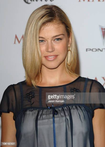 Adrianne Palicki during Maxim's 8th Annual Hot 100 Party Arrivals at The Gansevoort Hotel in New York City New York United States