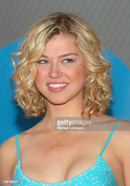 Adrianne Palicki during NBC 20072008 Primetime Preview Red Carpeti Upfronts Arrivals at Radio City Music Hall in New York City New York United States