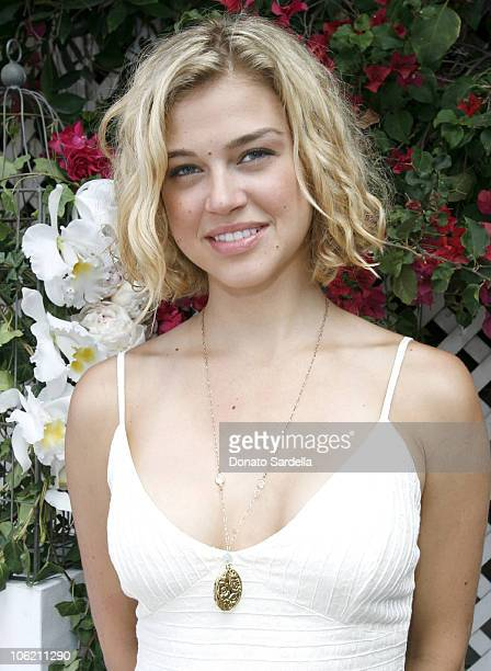 Adrianne Palicki during The Launch of Jacob's Cure Smiley Bag by Babydish at Private Residence in Los Angeles California United States