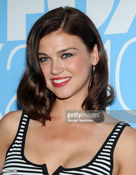 Adrianne Palicki from Lonestar attends the 2010 FOX UpFront after party at Wollman Rink Central Park on May 17 2010 in New York City