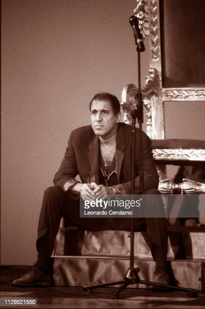 Adriano Celentano, Singer and actor, Milan, Italy, .