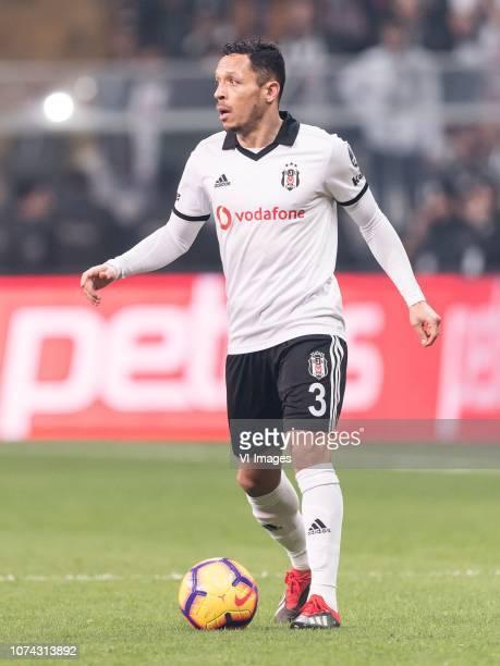 Adriano Correia Claro of Besiktas JK during the Turkish Spor Toto Super Lig football match between Besiktas JK and Trabzonspor AS on December 16 2018...