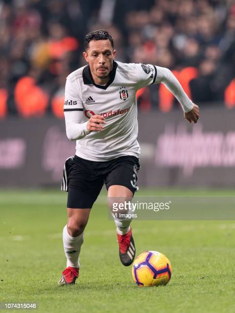Adriano Correia Claro of Besiktas JK during the Turkish Spor Toto Super Lig football match between Besiktas JK and Trabzonspor AS on December 16 2018...