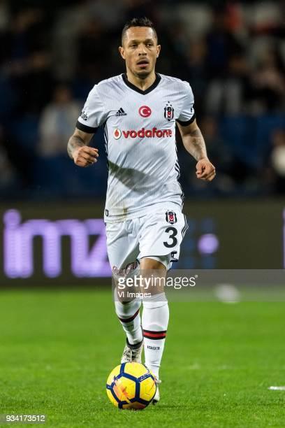 Adriano Correia Claro of Besiktas JK during the Turkish Spor Toto Super Lig match between Medipol Basakseshir FK and Besiktas AS at the Basaksehir...