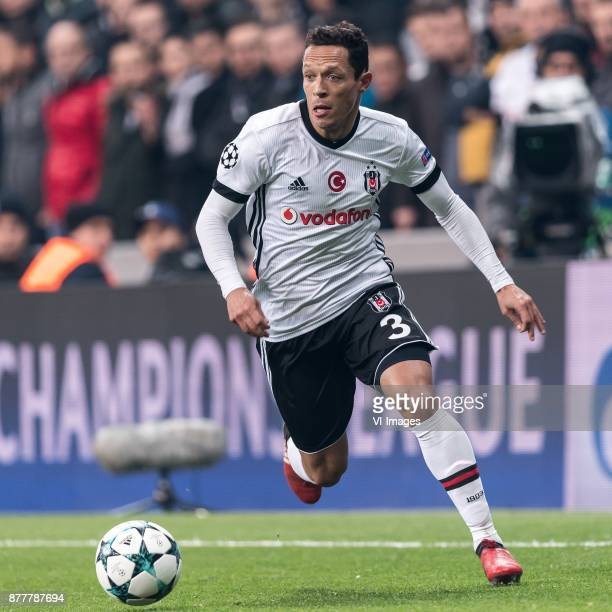 Adriano Correia Claro of Besiktas JK during the UEFA Champions League group G match between Besiktas JK and FC Porto on November 21 2017 at the...