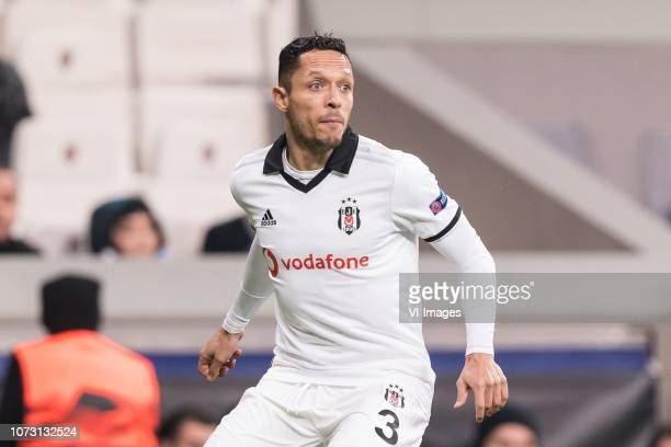 Adriano Correia Claro of Besiktas JK during the UEFA Europa League group I match between between Besiktas AS and Malmo FF at the Besiktas Park on...