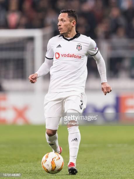 Adriano Correia Claro of Besiktas JK during the UEFA Europa League group I match between between Besiktas AS and Malmo FF at the Besiktas Park on...