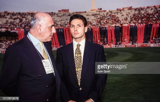 Adriano GALLIANI of Milan during the Champions League Final match between Milan AC and Barcelona at Olympic Stadium Athens Greece on May 18th 1994