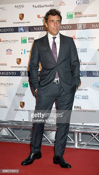 Adriano Giannini attends Nastri D'Argento 2016 Award Nominations at Maxxi on May 31 2016 in Rome Italy
