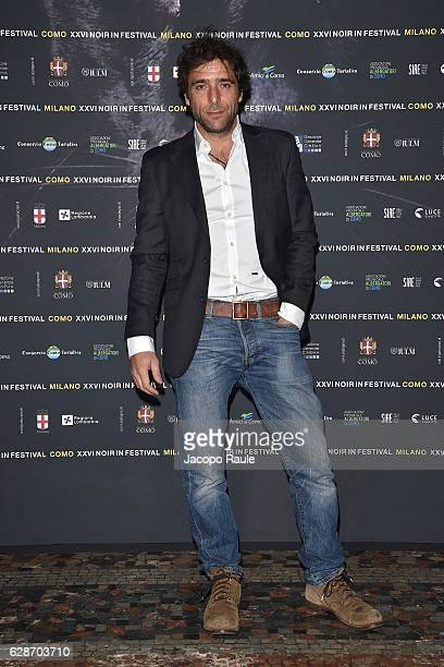 Adriano Giannini attends Noir In Festival 2016 on December 8 2016 in Como Italy