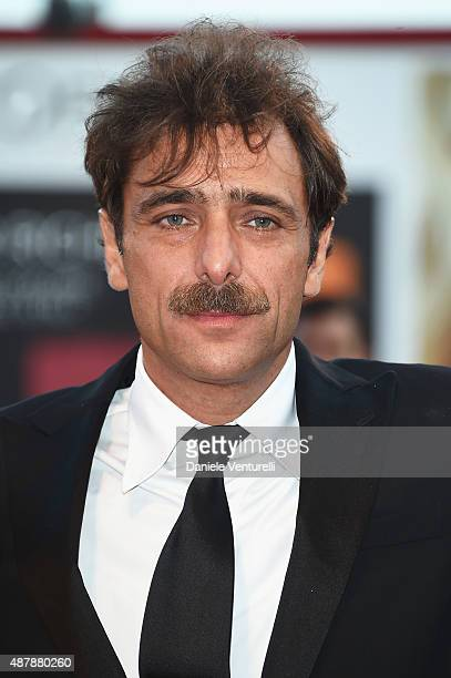 Adriano Giannini attends the closing ceremony and premiere of 'Lao Pao Er' during the 72nd Venice Film Festival on September 12 2015 in Venice Italy