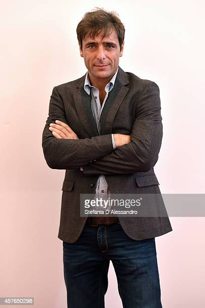 Adriano Giannini attends the 'Doppia Difesa' Photocall during the 9th Rome Film Festival on October 22 2014 in Rome Italy