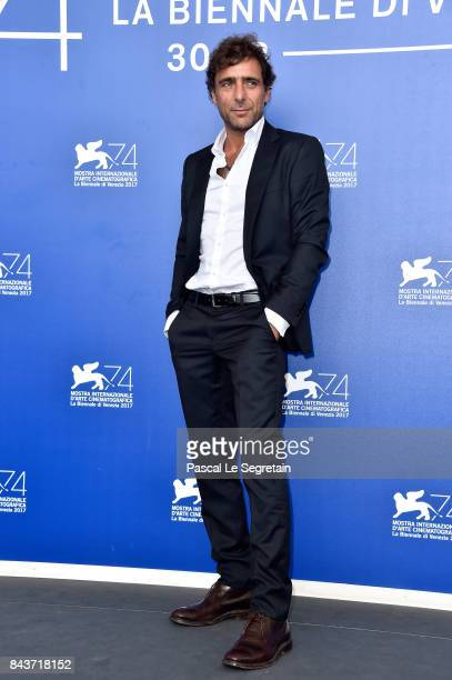 Adriano Giannini attends the 'Emma ' photocall during the 74th Venice Film Festival at Sala Casino on September 7 2017 in Venice Italy
