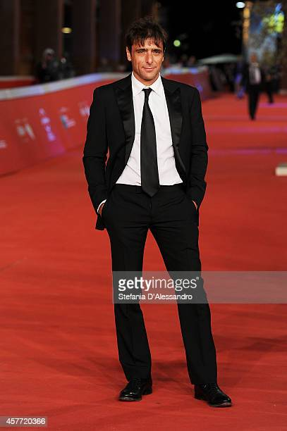 Adriano Giannini attends the 'La Foresta Di Ghiaccio' Red Carpet during the 9th Rome Film Festival on October 23 2014 in Rome Italy