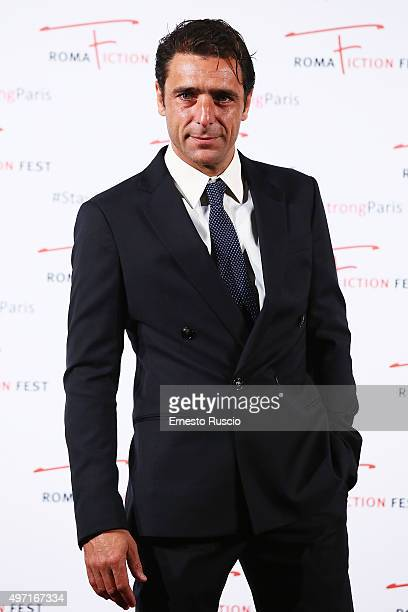 Adriano Giannini attends the 'Limbo' red carpet during the 9th Roma Fiction Fest at Cinema Adriano on November 14 2015 in Rome Italy