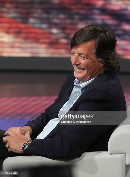 Adriano Panatta attends 'Che Tempo Che Fa' Italian Tv Show held at Rai Studios on October 17 2009 in Milan Italy