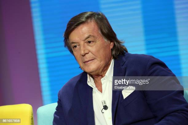 Adriano Panatta attends Domenica In TV Show on October 15 2017 in Rome Italy