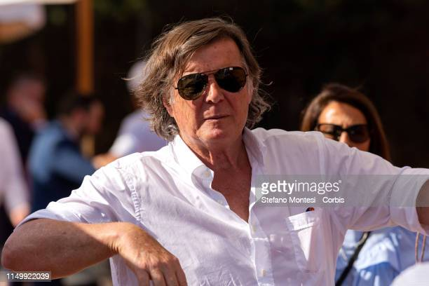 Adriano Panatta attends in the first edition of the Wellness cup at the Tennis Club Parioli on June 13 2019 in Rome Italy The tennis tournament...