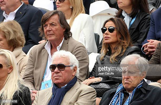 Adriano Panatta attends the women's final on day 14 of the 2016 French Open held at RolandGarros stadium on June 4 2016 in Paris France