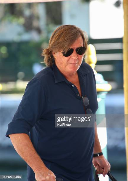 Adriano Panatta is seen during the 75th Venice Film Festival on September 3 2018 in Venice Italy