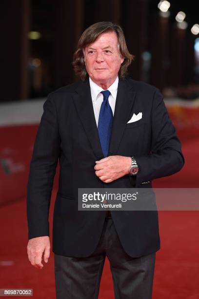 Adriano Panatta walks a red carpet for 'Borg McEnroe' during the 12th Rome Film Fest at Auditorium Parco Della Musica on November 3 2017 in Rome Italy