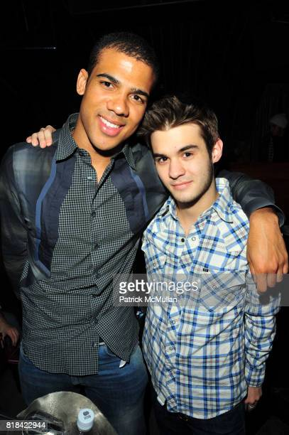 Adriel Reboh and JT White attend American Red Cross Concern Worldwide and The Edeyo Foundation Fundraiser at 1 OAK on January 21 2010 in New York City