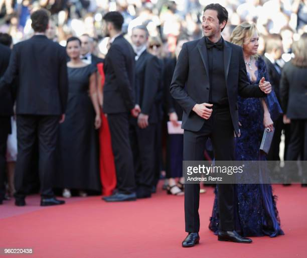 Adrien Brody and artistic Director and CoPresident of Chopard Caroline Scheufele attends the screening of 'The Man Who Killed Don Quixote' and the...