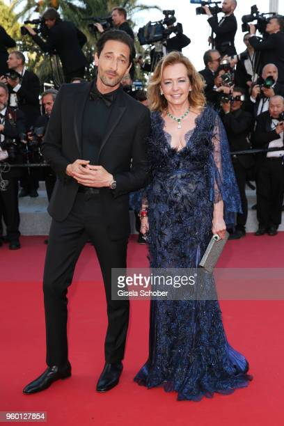 Adrien Brody and Caroline Scheufele attend the Closing Ceremony screening of 'The Man Who Killed Don Quixote' during the 71st annual Cannes Film...