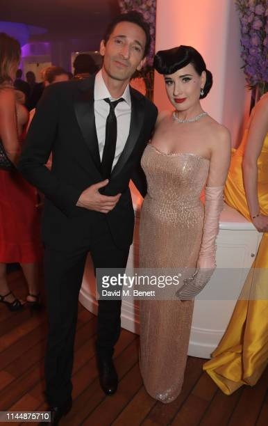 Adrien Brody and Dita Von Teese attend the Vanity Fair and Chopard Party celebrating the 72nd Annual Cannes Film Festival at Hotel du Cap-Eden-Roc on...